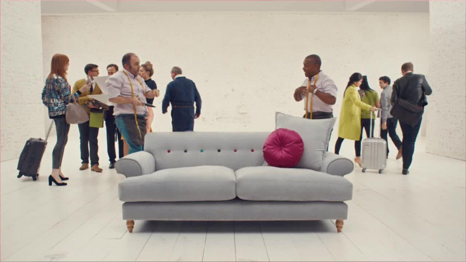 Behind The Sofa