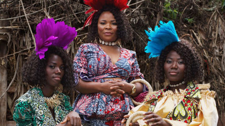 Vlisco fashions sourced from communities of strength and hope