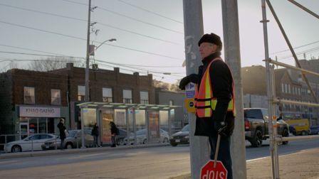 Stash Capar directs his father in 'Crosswalk Philosopher'