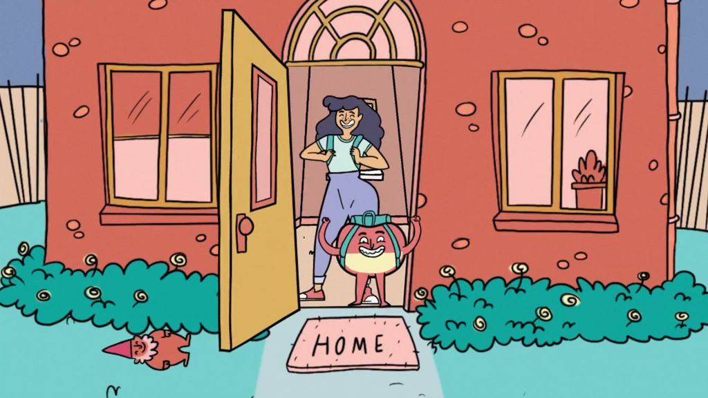 Elvie Tackles Incontinence Taboo With An Animated Duo Shots