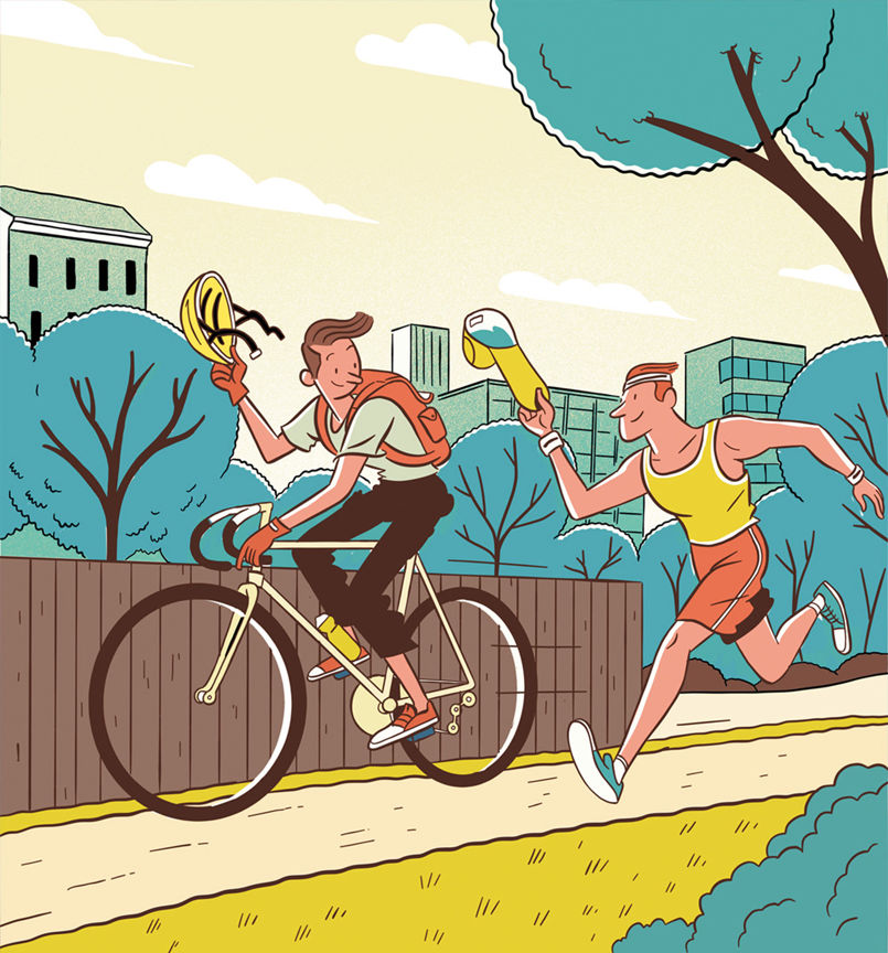 Steve-Scott-Cycling-Plus-Jellylondon-Illustration-7