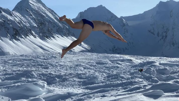 How to swim up a mountain
