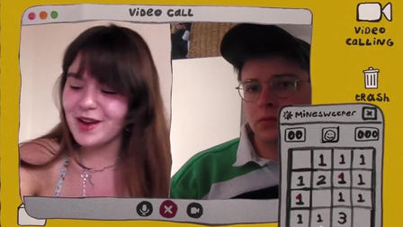 You're never Lonely with a retro videocall