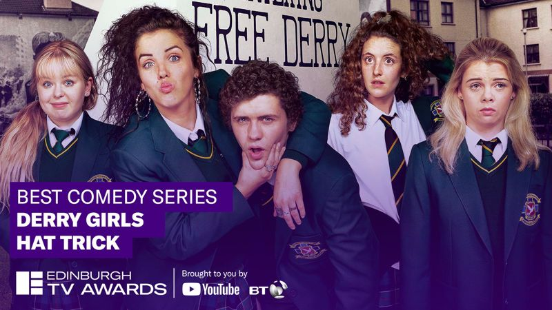 'DERRY GIRLS' WINS 'TV AWARD FOR BEST COMEDY SERIES'