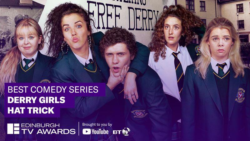 'DERRY GIRLS' WINS 'TV AWARD FOR BEST COMEDY SERIES'