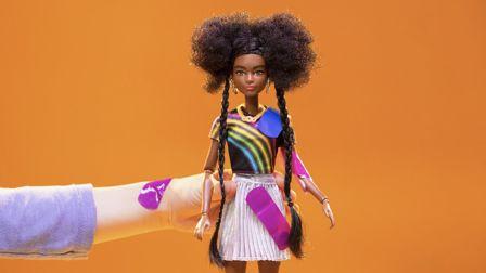 Barbie's eco-friendly makeover