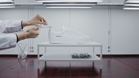 Adidas and Prada work with limited space