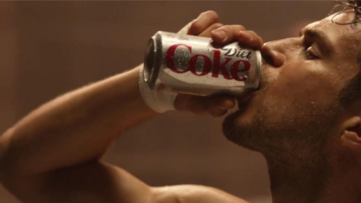 diet coke commercial men in limo