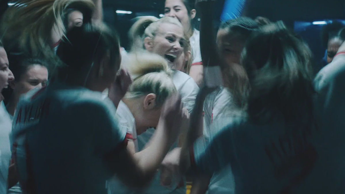 Three Lionesses roar in Lucozade campaign | shots