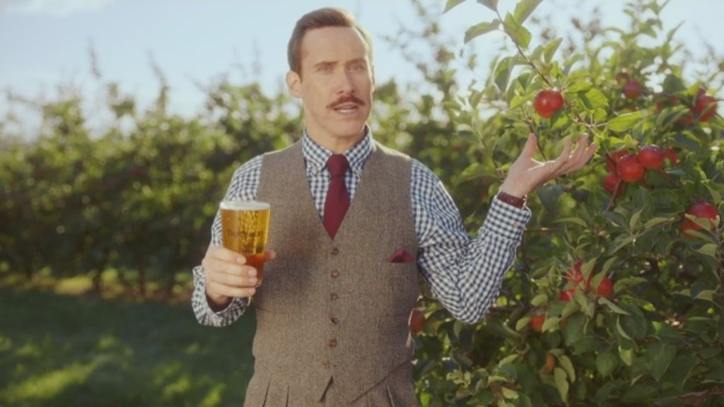 """Thatchers cider talks """"Farm and Family"""""""