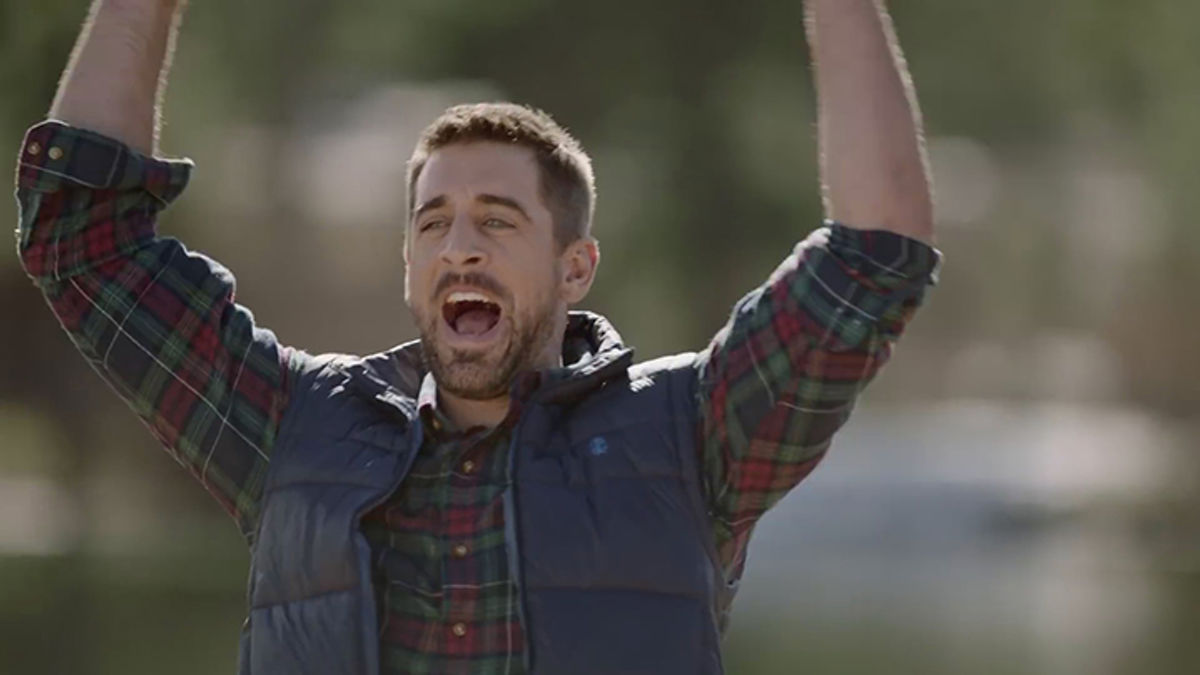 Izod Enlists Snl Cast Member Colin Jost And Green Bay Packers Mvp Quarterback Aaron Rodgers For New Campaign Shots