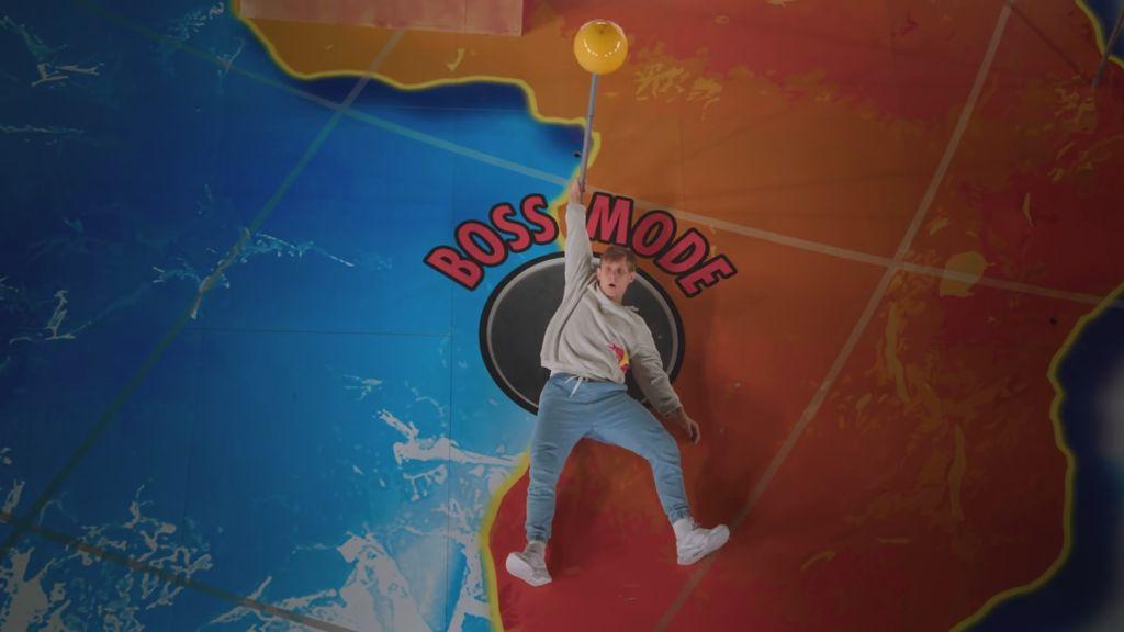 Red Bull's freerunning pinball wizard