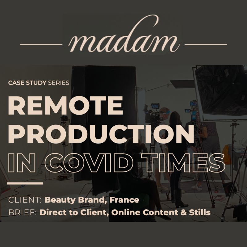 Remote Production During COVID Case Study