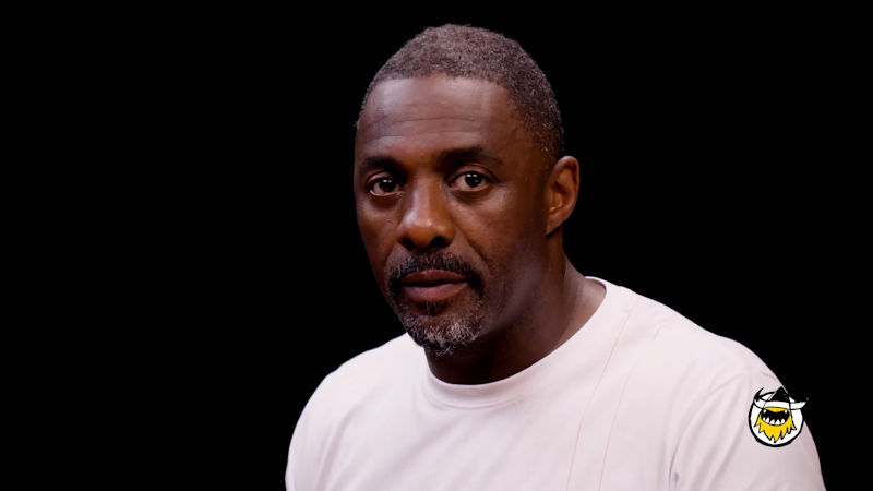 Idris Elba Wants to Fight While Eating Spicy Wings