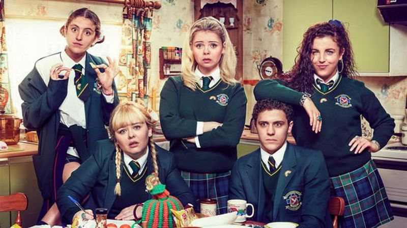 DERRY GIRLS SEASON 3 COMMISSIONED!