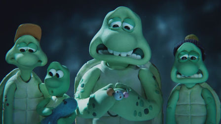 Greenpeace and Aardman release sad tale of turtles in trouble