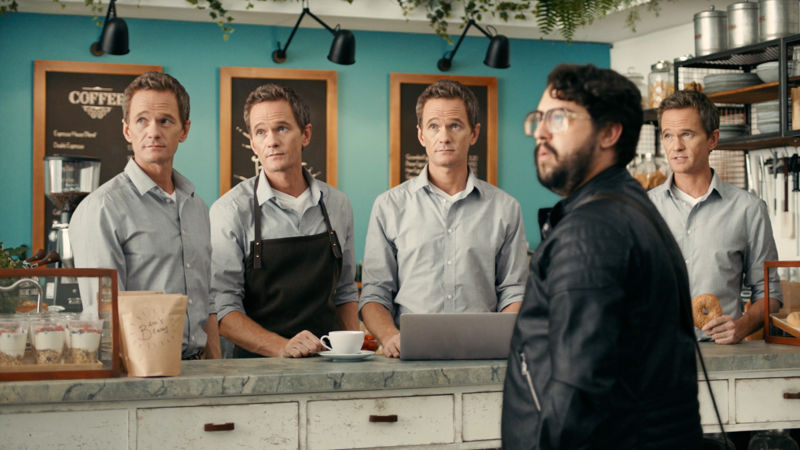 RUSSELL BATES DIRECTS NEIL PATRICK HARRIS FOR JIMDO