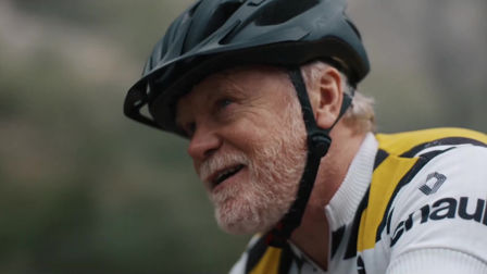 Renault's unstoppable senior cyclist