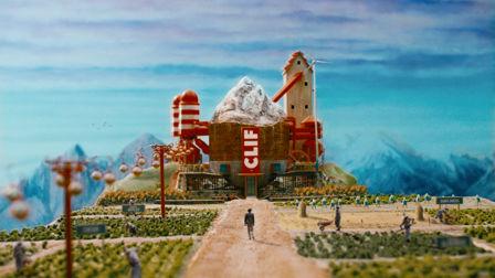 Clif Bar's climber wanders through a whimsical world