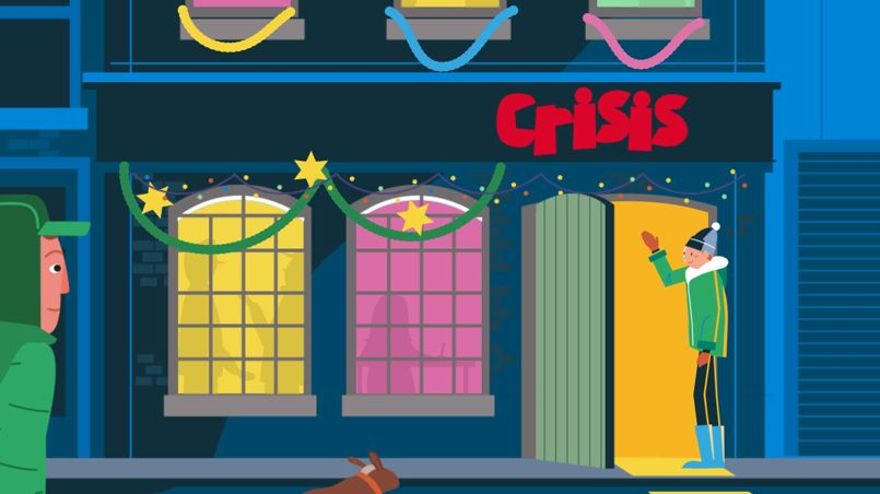 Jelly-London-Christmas-Crisis-Building-Animation