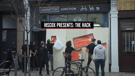 Hiscox Hacks Physical Store to Highlight Cyber Crime