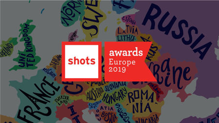 shots Awards Europe 2019 winners