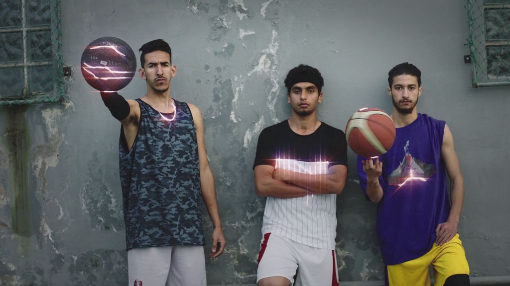 Gaming meets real-life sports in this vibrant montage from Morocco