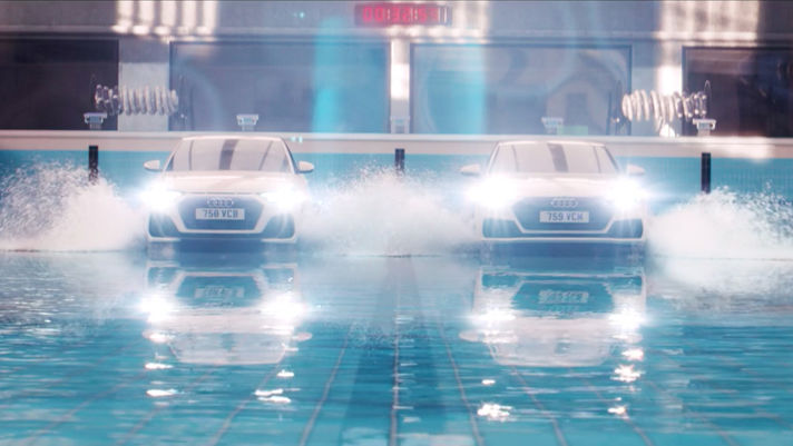 Hardstaff and Heartfield on making a splash for Audi