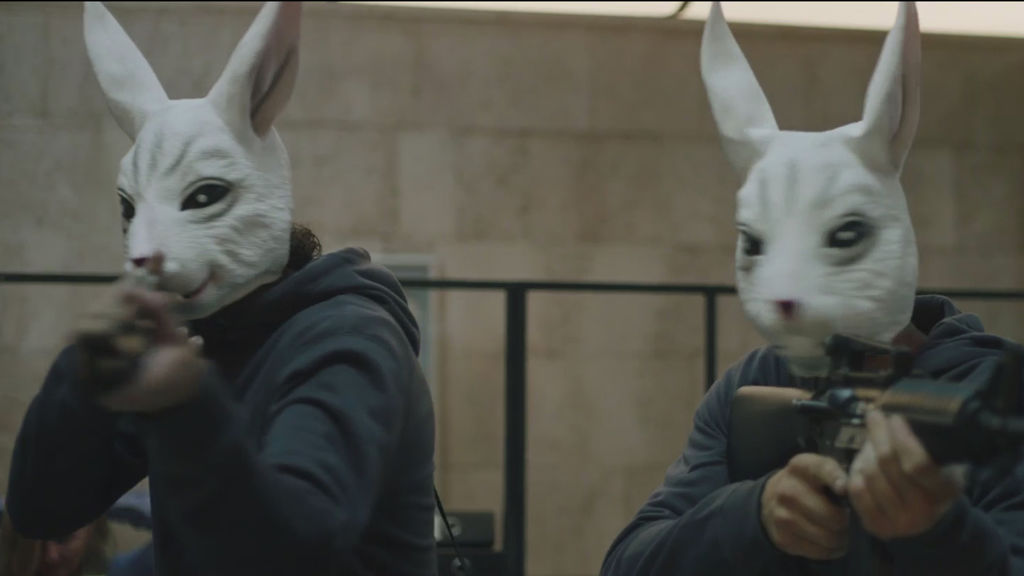 Mirth with masked gangs' funny face-off