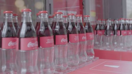 Coca-Cola is a glass half full type of brand