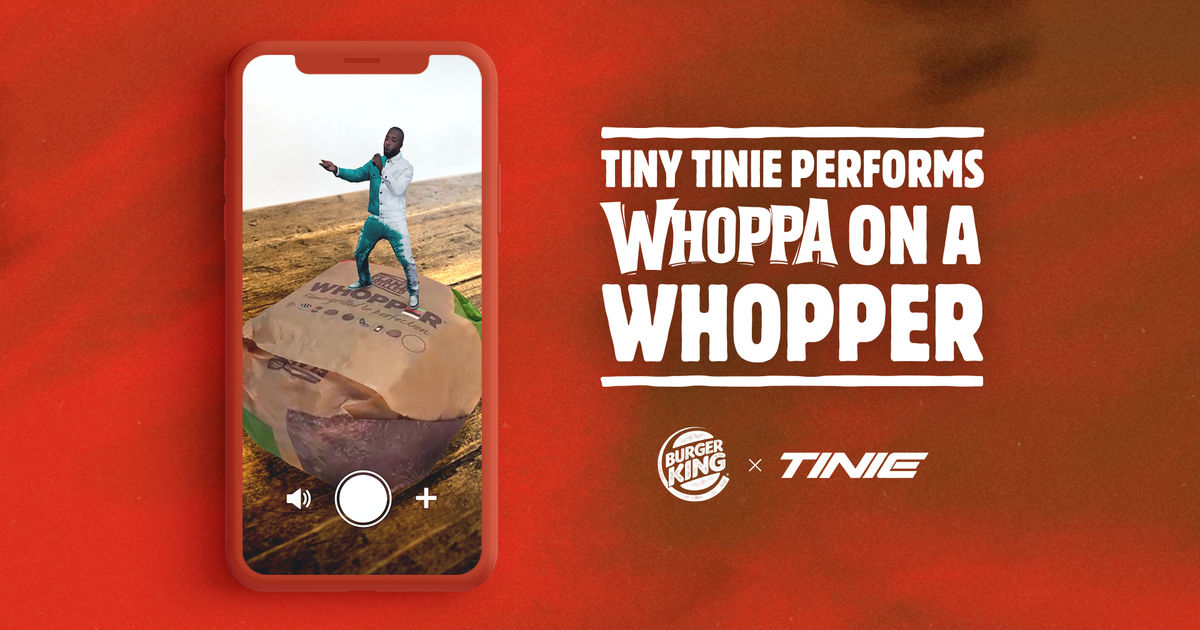 Image result for whoppa on a whopper AR