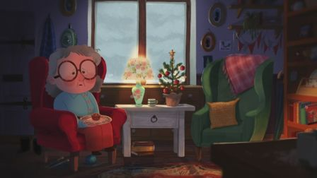 Animation highlights loneliness for the elderly at Christmas