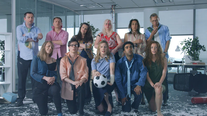 ANDY LAMBERT'S 'THE SUN WORLD CUP - OFFICE KNOCKABOUT' SHORTLISTED IN THE BRITISH ARROWS