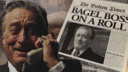 De Niro watches the dough roll in for Warburtons