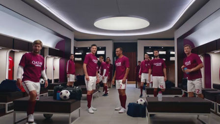 Qatar Airways hits the back of the net with engaging flight safety film