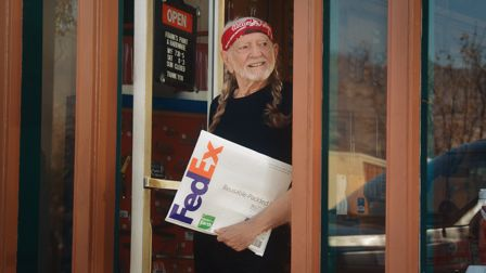 FedEx promotes sustainability goals with Willie Nelson in new film