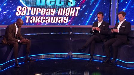 ITV's awkward Saturday night