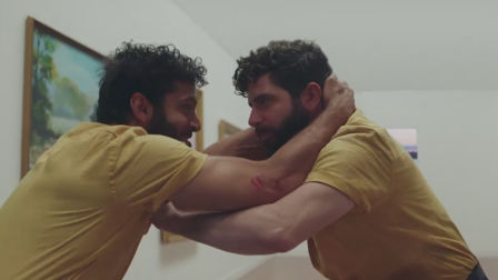 New FOALS vid The Runner sees a man try to escape himself