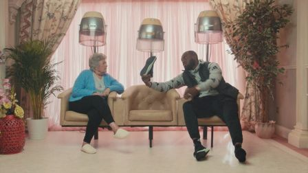 Grime Gran and Headie One talk kicks with holes in the soles