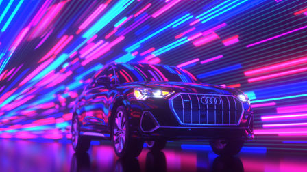 Audi launches three-second splendours