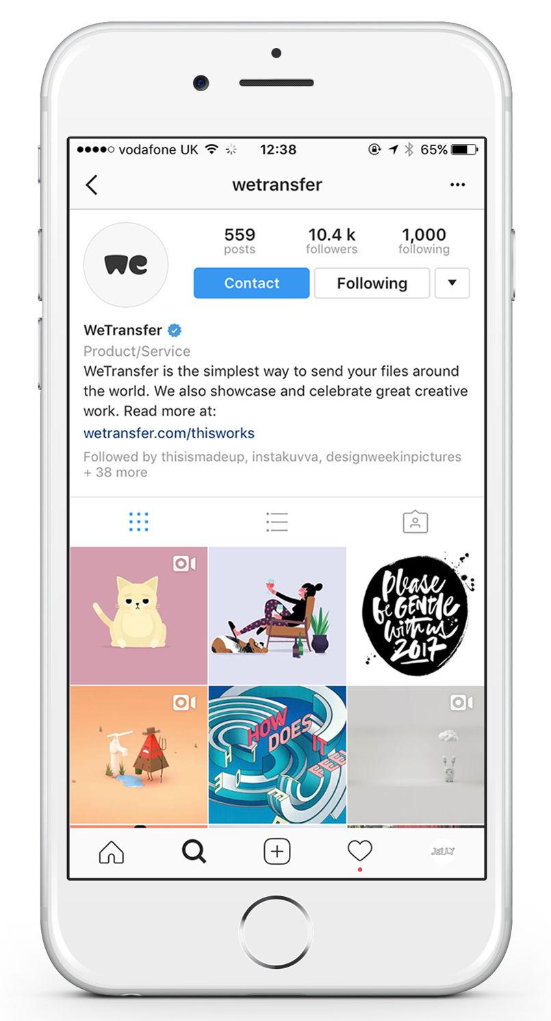JellyLondon-WeTransfer-Takeover-Instagram-iPhone2