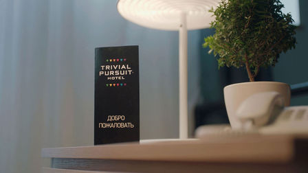 Put your roubles away! Pay with knowledge at the Trivial Pursuit hotel