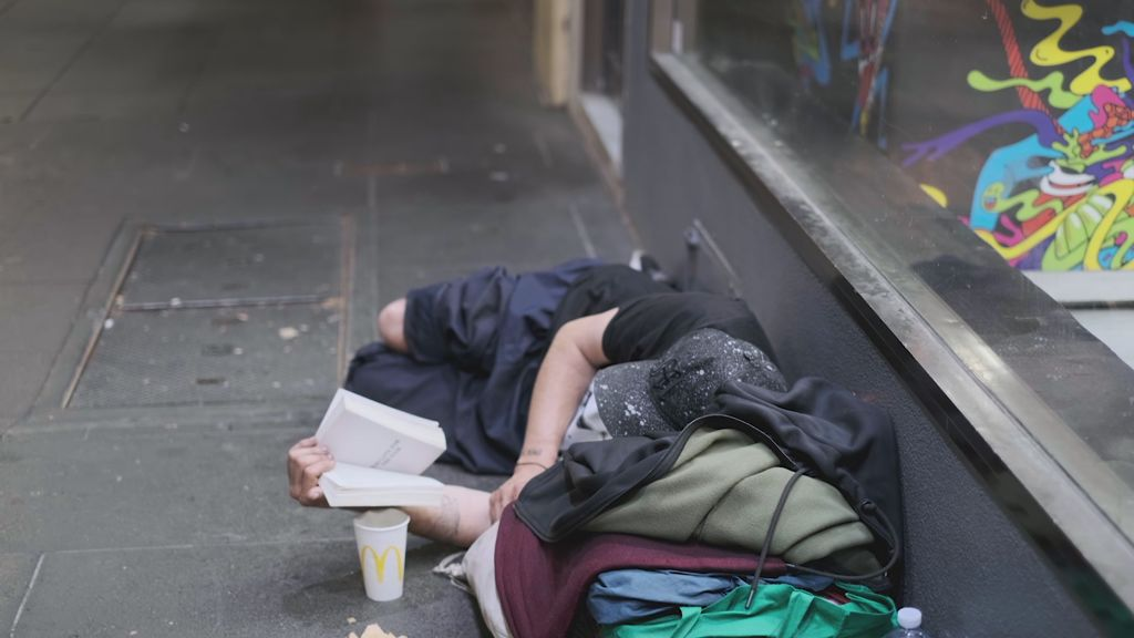 How Melbourne's new 'street food' is helping rough sleepers