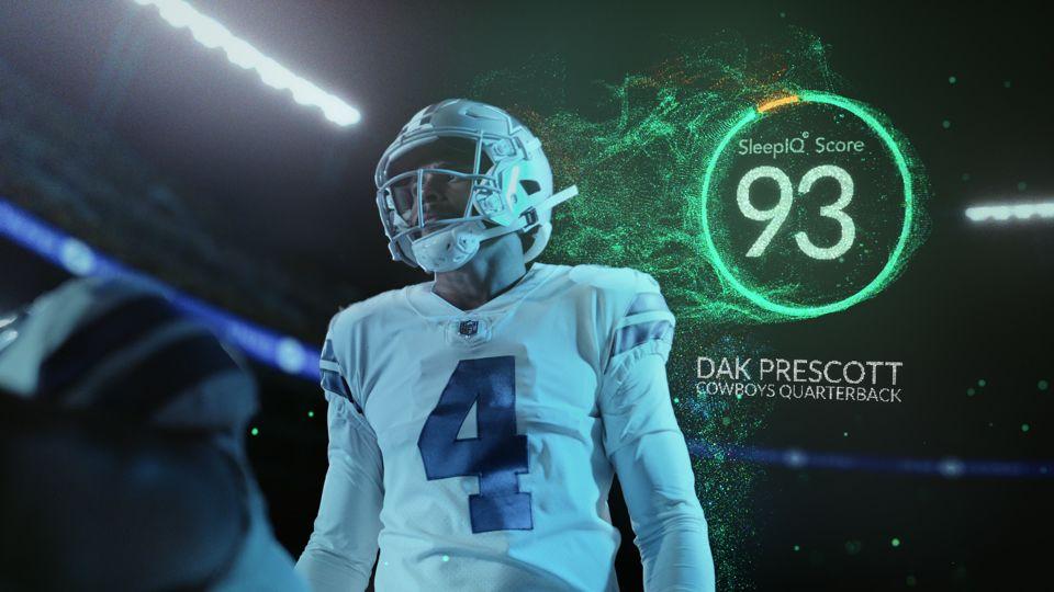 360 Smart Bed ft. Dak Prescott of Dallas Cowboys