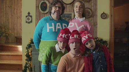 Michel Gondry's madcap in-camera festive gift for HP
