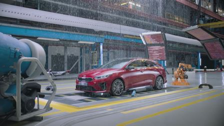 Glassworks puts a KIA through its paces