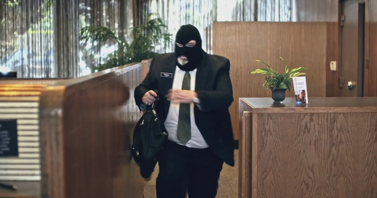 Axos stages a banker heist | shots