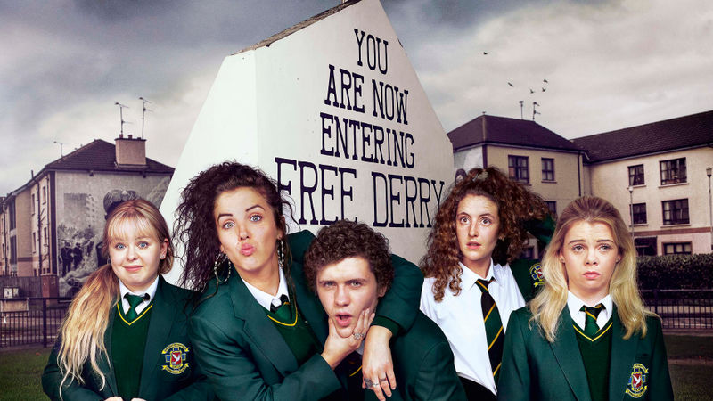 76's MICHAEL LENNOX DIRECTS 'DERRY GIRLS' SERIES 2 AIRING TOMORROW FOR CHANNEL 4